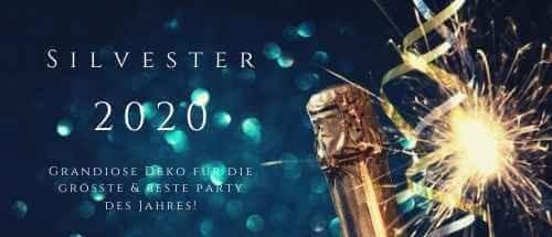 Party-Extra Grandiose Silvester Deko für Neujahr 2020 M