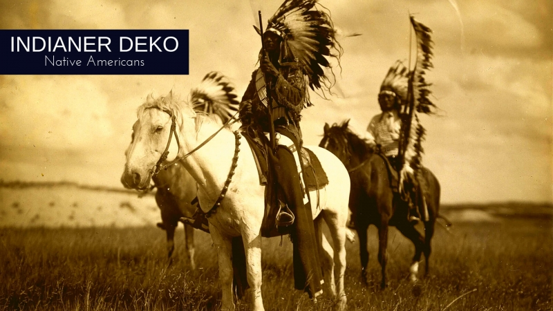 Indianer Deko - Native Americans Westernparty