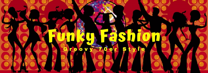 Funky Fashion Groovy Style fuer Dein 70er Jahre Mottoparty Outfit