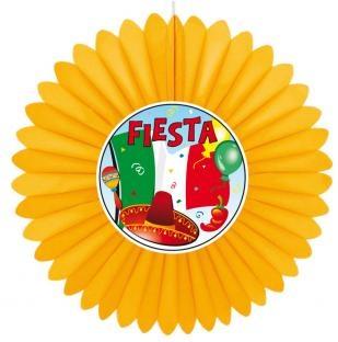 Dekofächer Fiesta Mexikana - Mexikoparty Deko
