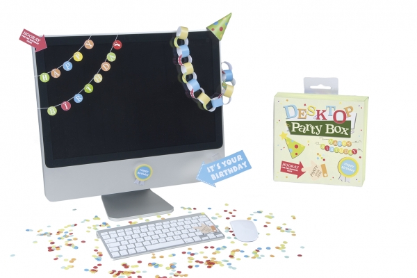 Desktop Party Box Geburtstagszubehoer