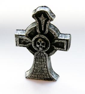 Mini-Tischdeko Grab-Kreuz