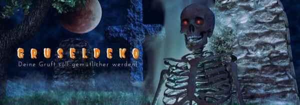 Halloween Gruseldeko - günstig gruseln mit Party-Extra M