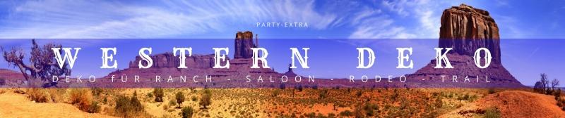 Western Deko für Ranch, Saloon, Rodeo, Trail
