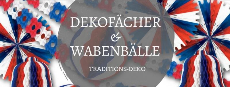 Dekofächer ü Wabenbaölle - Traditions-Deko