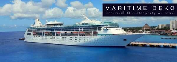 Maritime Traumschiff Mottoparty Deko M