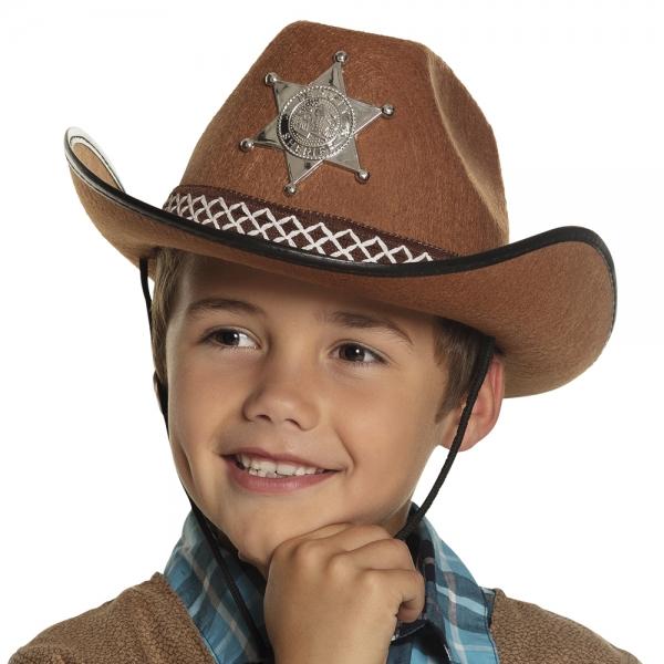 Party-Extra Junior Sheriff Cowboyhut