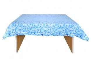 Plastik-Tischdecke Blaue Geburtstagsfeier - Geburtstagspartydeko