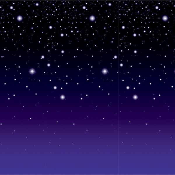Dekofolie Starlight - XXL Deko
