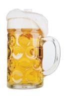 XL-Cutout Bierglas, beidseitig, 75 x 50 cm groß