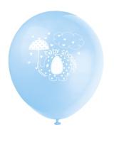 Luftballons Babyfant, hellblau, 8er Pack.