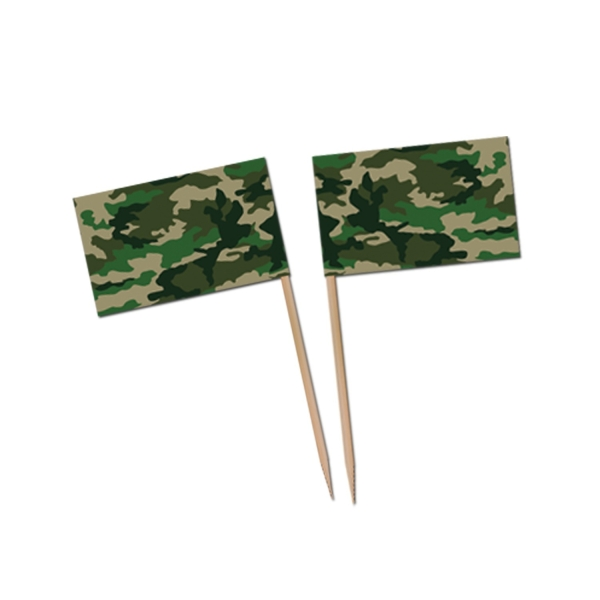 Flaggenpicker Tarnfarbe - Army Deko
