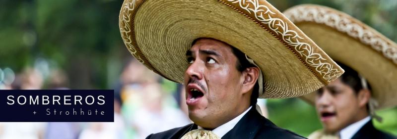 Party-Extra Sombreros aus Mexiko - mexikanische Mottoparty Zubehör