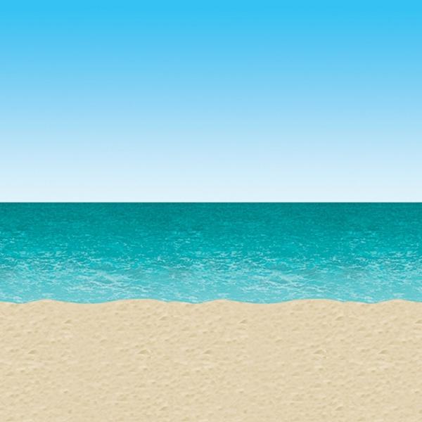 Dekofolie Strand und Meer