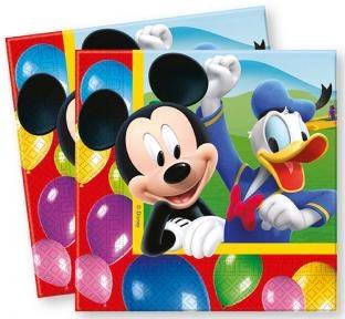 Servietten Mickey Maus, 20er Pack
