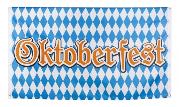 Dekofahne Oktoberfest - Bierparty Deko