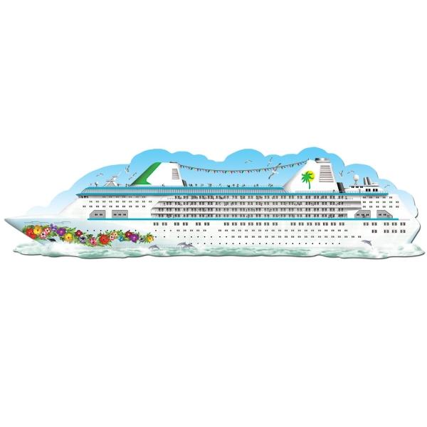 Riesen Wanddeko-Traumschiff - Maritime Deko