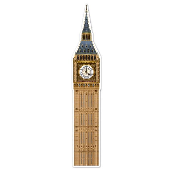 Riesen-Cutout Big Ben