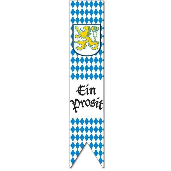 Riesen Cutout-Schild Bayernparty - Oktoberfest Deko